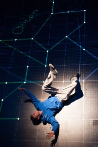 The National Theatre's Curious Incident of the Dog in the Night-time receives eight nominations (Credit: Manuel Harlan)