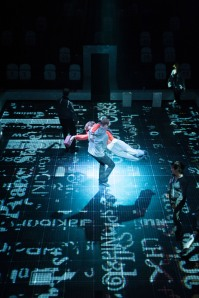 The National Theatre's production The Curious Incident of the Dog in the Night-time wins seven prizes at Olivier Awards (Credit: Manuel Harlan)