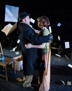Sandor (Michael Matus) and Mrs P (Isy Suttie) (Credit: Jane Hobson)