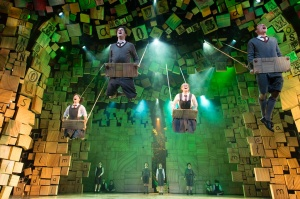 The cast of Matilda The Musical. (Credit: Manuel Harlan)