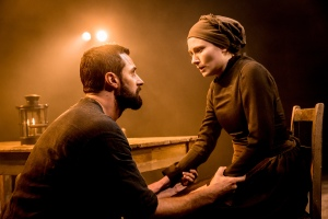Armitage's turn as John Proctor is commanding to watch (Credit: Johan Persson)