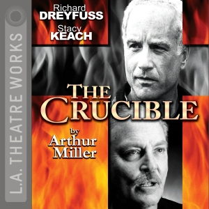 LA Theatre Works cover of bestseller The Crucible